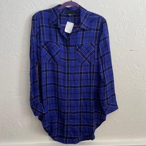 NWT Sanctuary flannel tunic